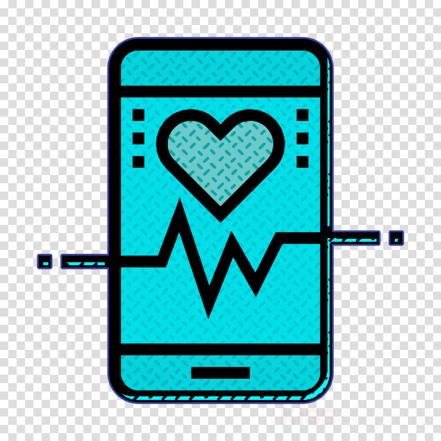Heart rate icon App icon Fitness icon