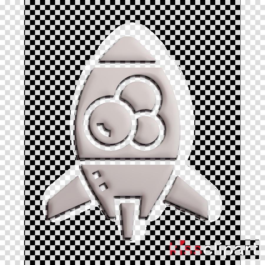 Lava lamp icon Rocket icon Home Decoration icon