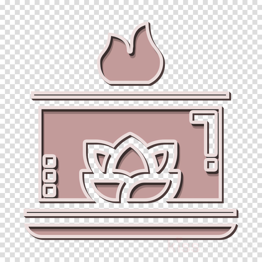 Home Decoration icon Aromatic candle icon