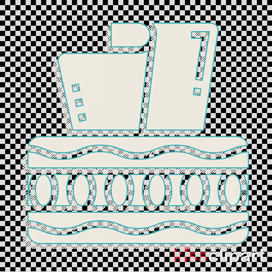 Tissue box icon Home Decoration icon