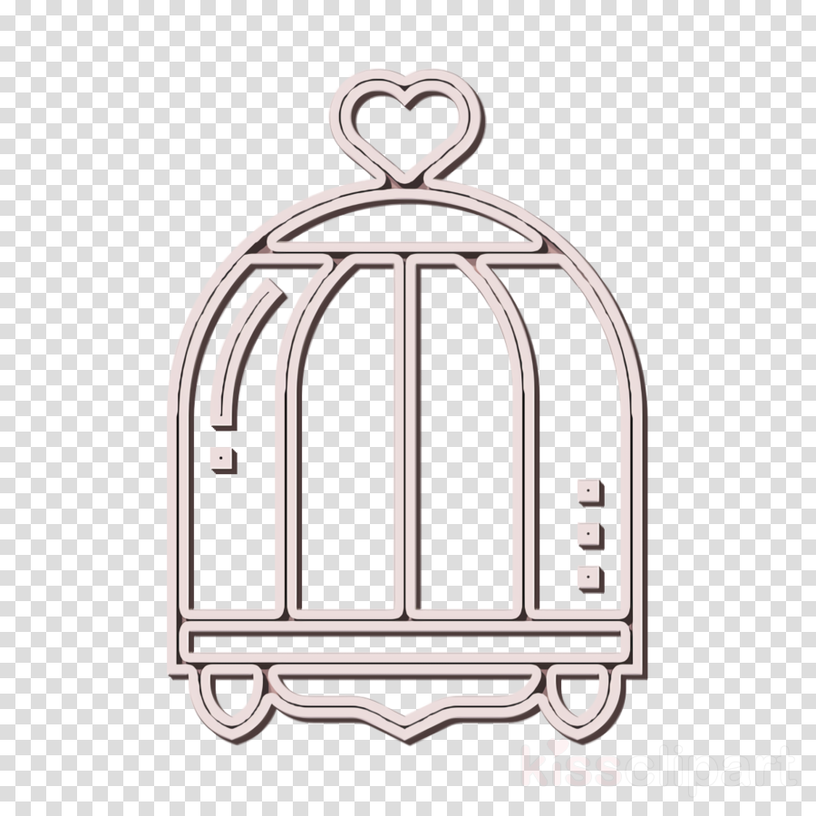 Bird cage icon Bird icon Home Decoration icon
