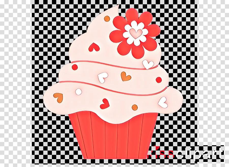 baking cup cupcake pink cake red