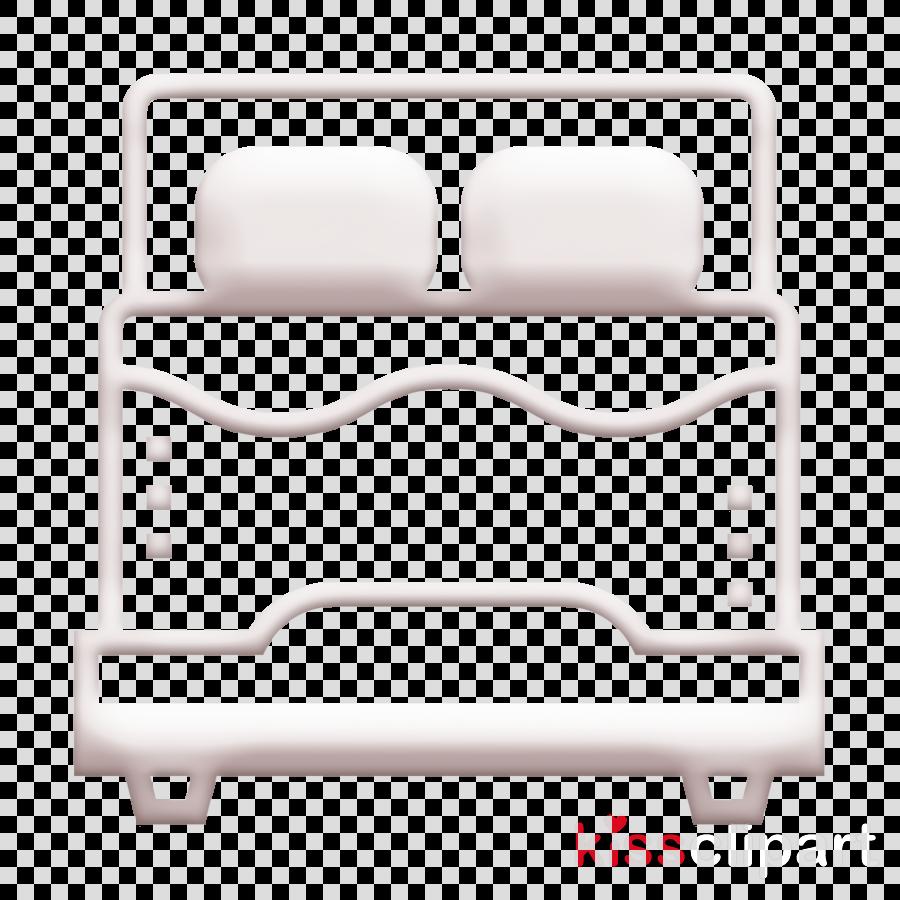 Hotel Services icon Bed icon