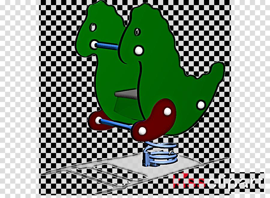 cartoon seahorse recreation