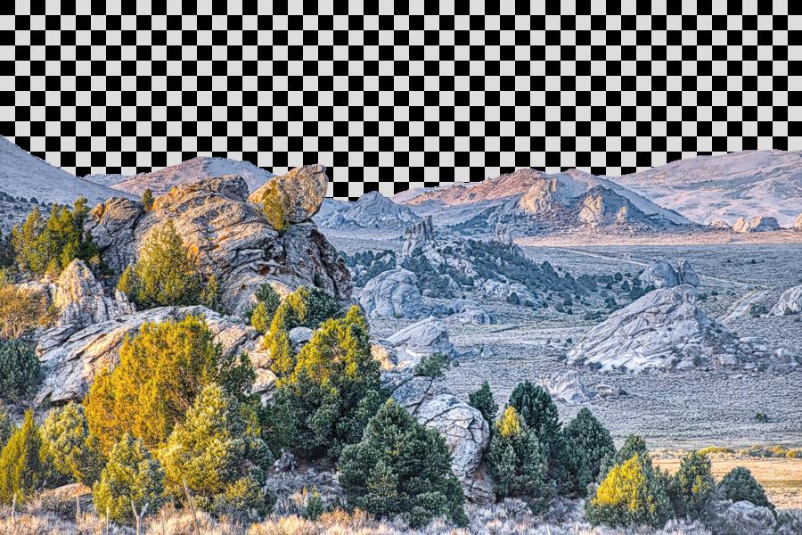 mountainous landforms badlands nature mountain natural landscape