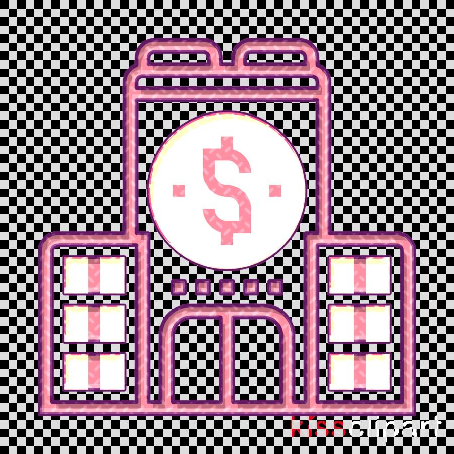 Company icon Investment icon Architecture and city icon