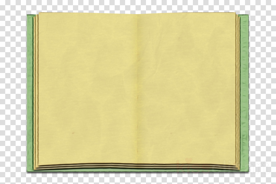 yellow green rectangle paper product square
