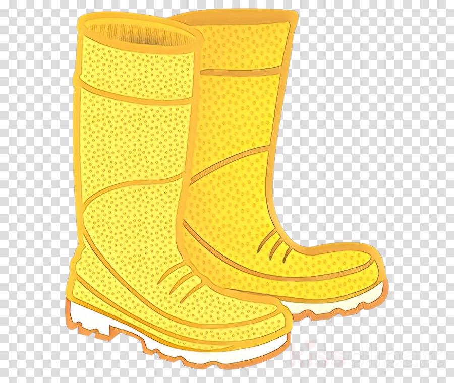 footwear yellow boot rain boot shoe