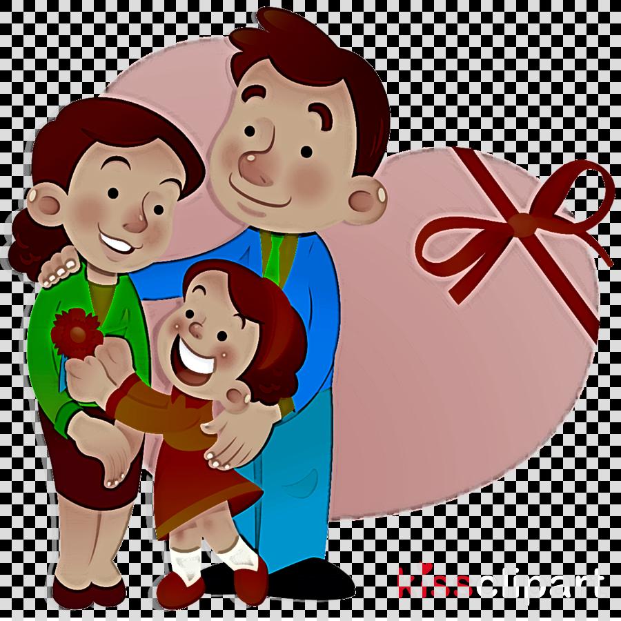 cartoon interaction love happy child