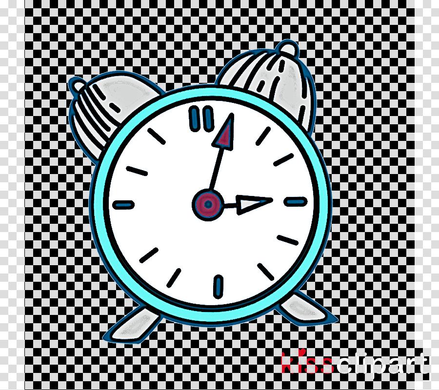 clock alarm clock line art home accessories wall clock