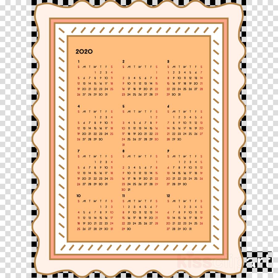 2020 yearly calendar Printable 2020 Yearly Calendar Year 2020 Calendar