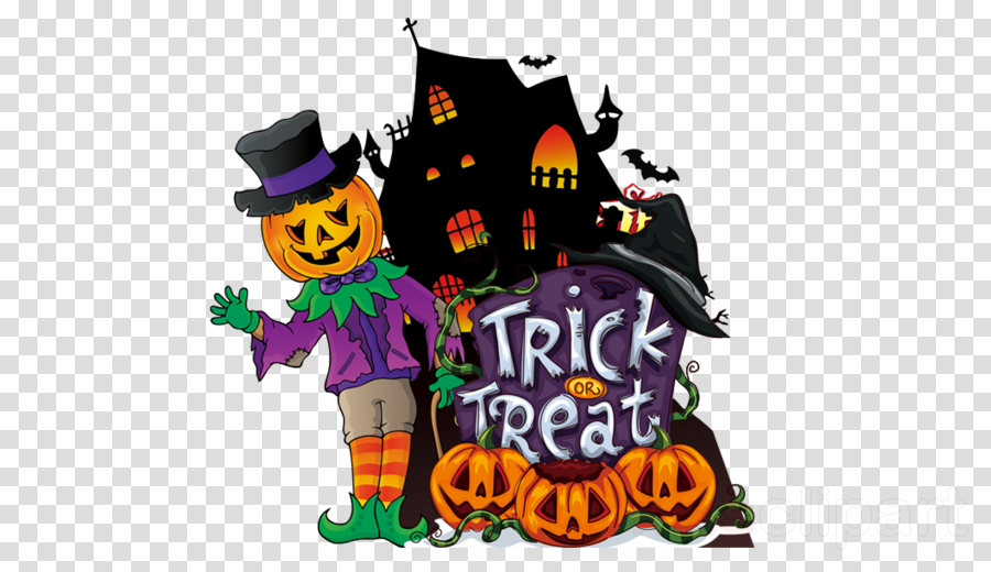 trick-or-treat witch hat cauldron