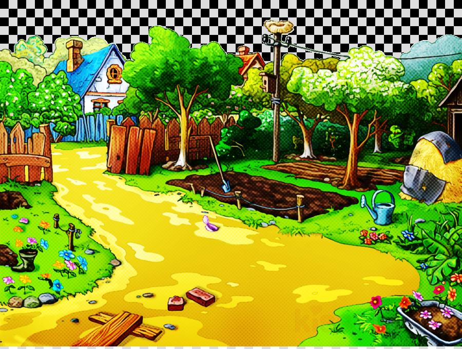 natural landscape biome adventure game games tree