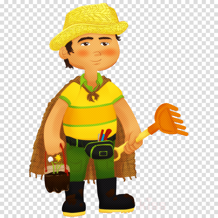 toy cartoon construction worker lego figurine