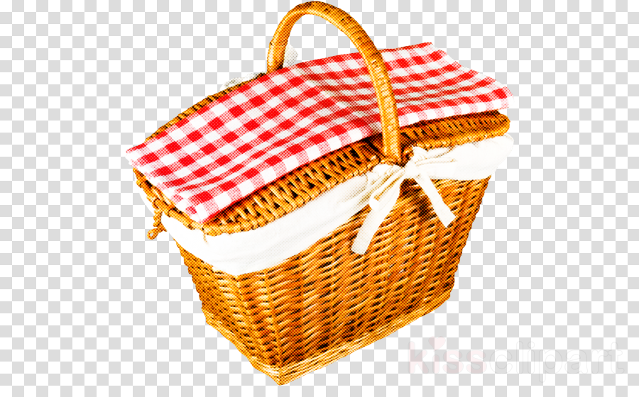 basket storage basket wicker picnic basket hamper