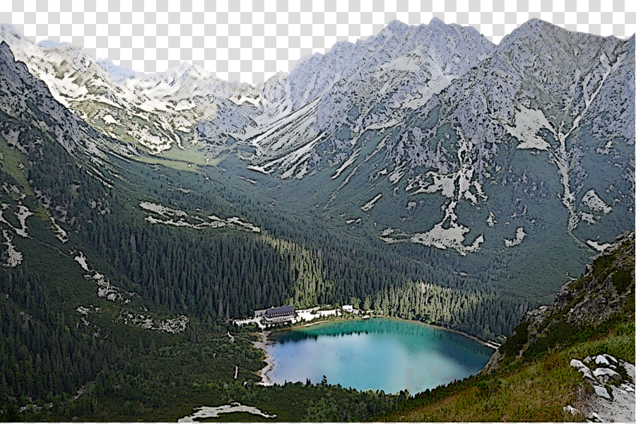 mountainous landforms mountain natural landscape mountain range highland