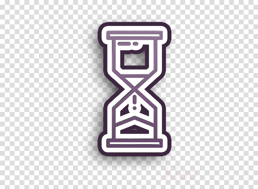 Hourglass icon Timing icon Startup New business icon