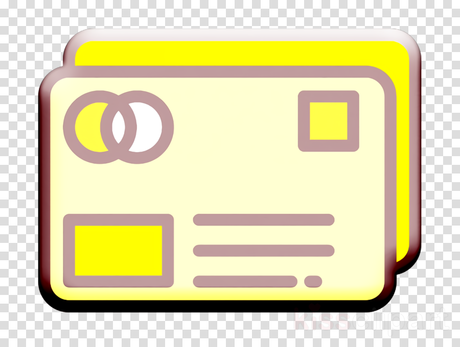 Credit card icon Money Funding icon Card icon