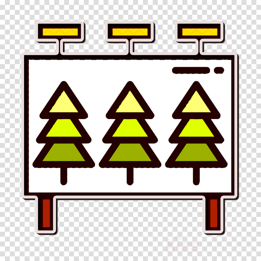 Camping Outdoor icon Billboard icon
