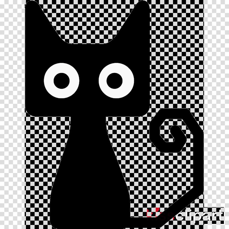black cat halloween cat