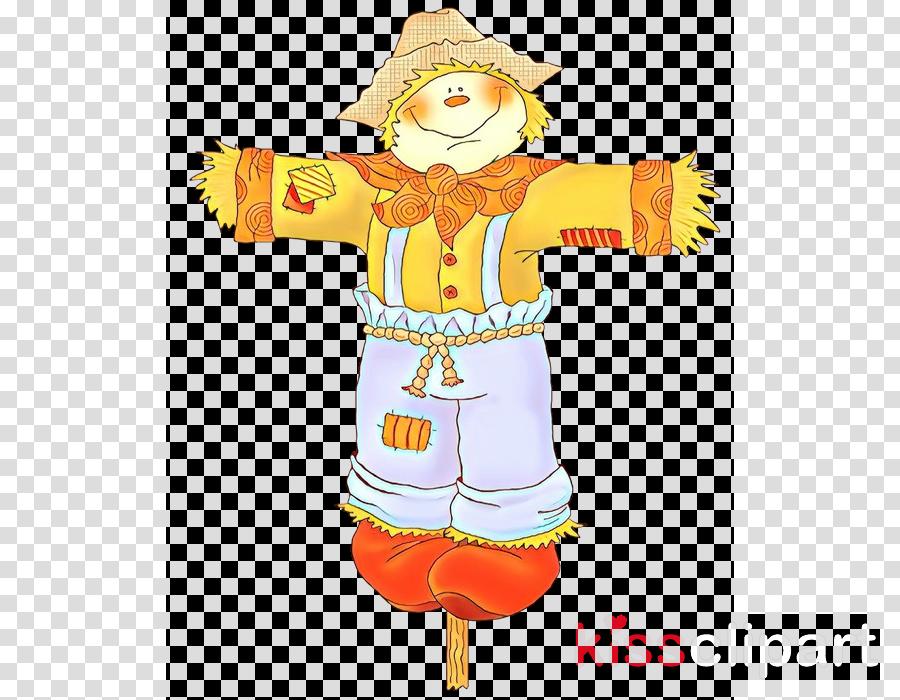 cartoon costume scarecrow