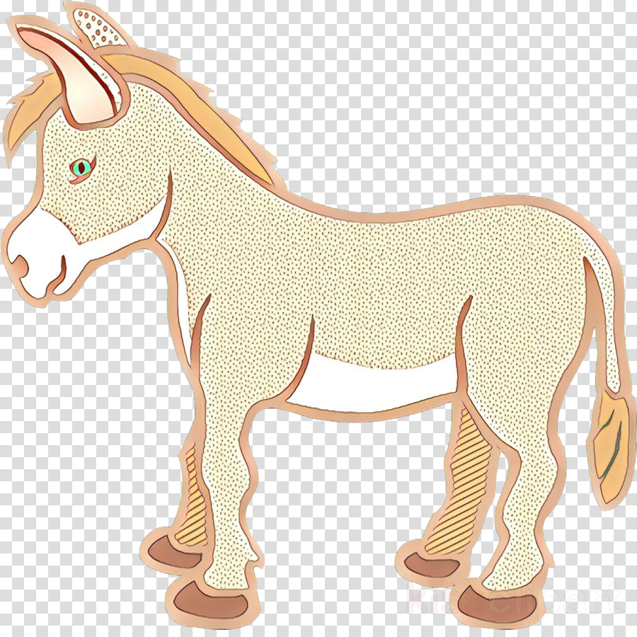 animal figure cartoon horse burro pony