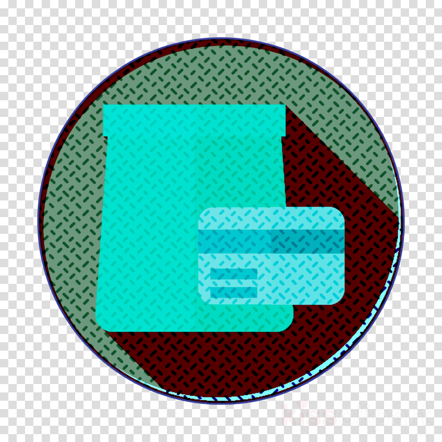Food and restaurant icon Credit card icon Take away icon