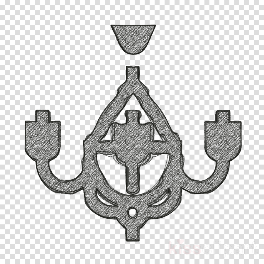 Chandelier icon Home Decoration icon Furniture and household icon