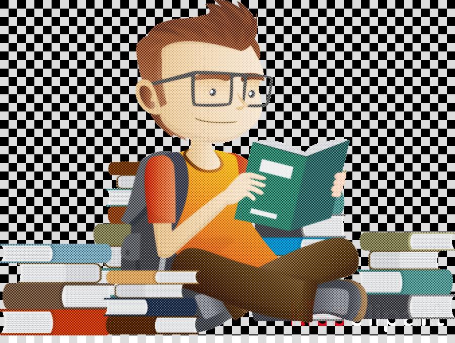 cartoon job animation sitting employment