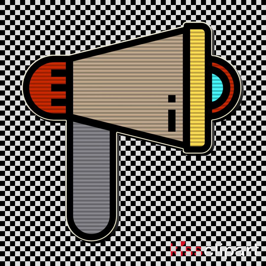 Megaphone icon Promotion icon Electronic Device icon