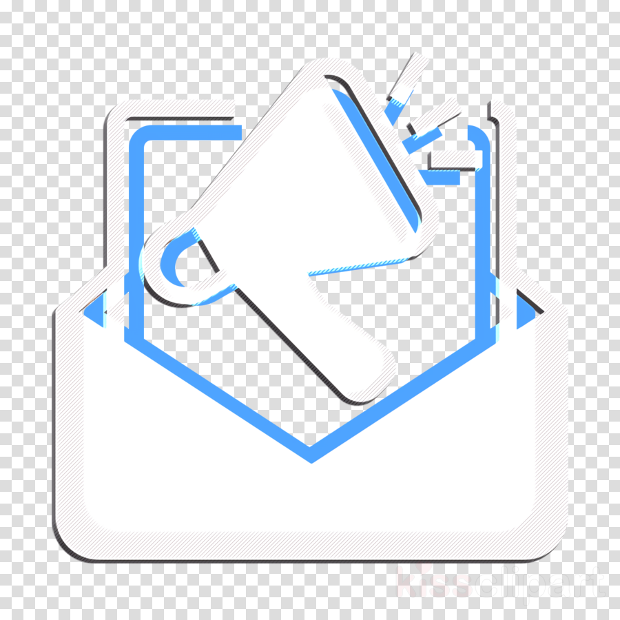 Campaign icon Advertising icon Email icon