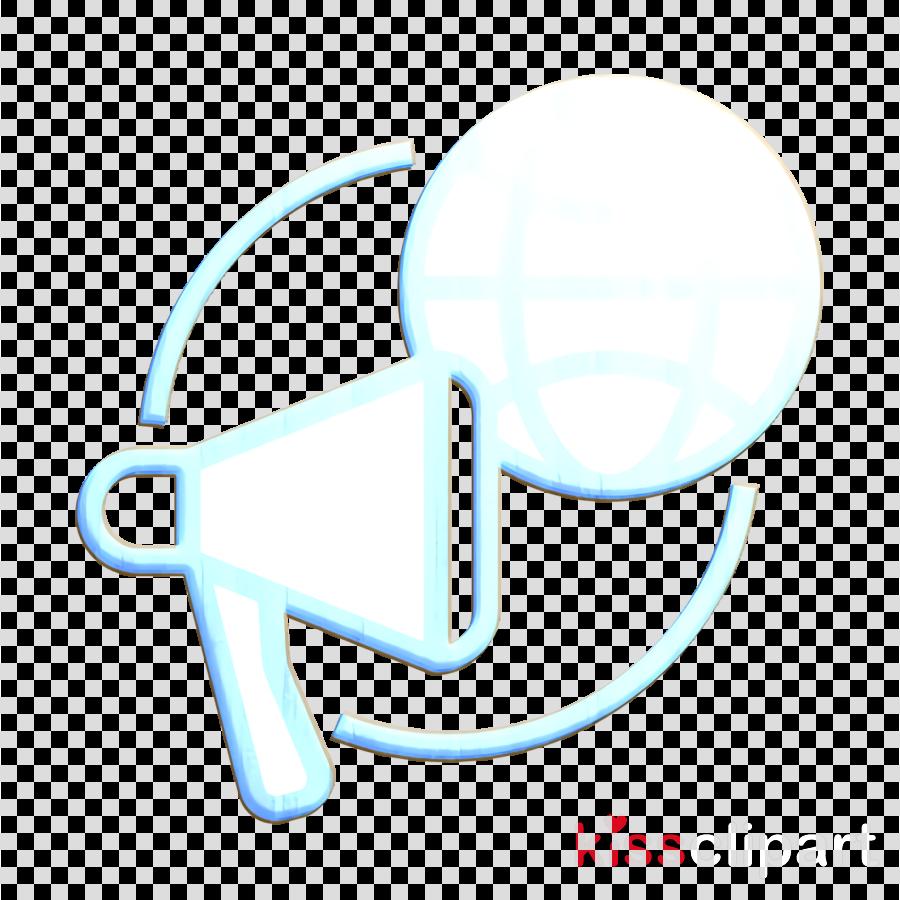 Advertising icon Megaphone icon Announce icon