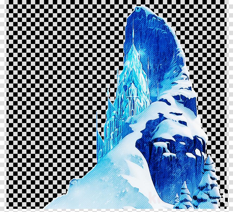 blue glacial landform ice water glacier