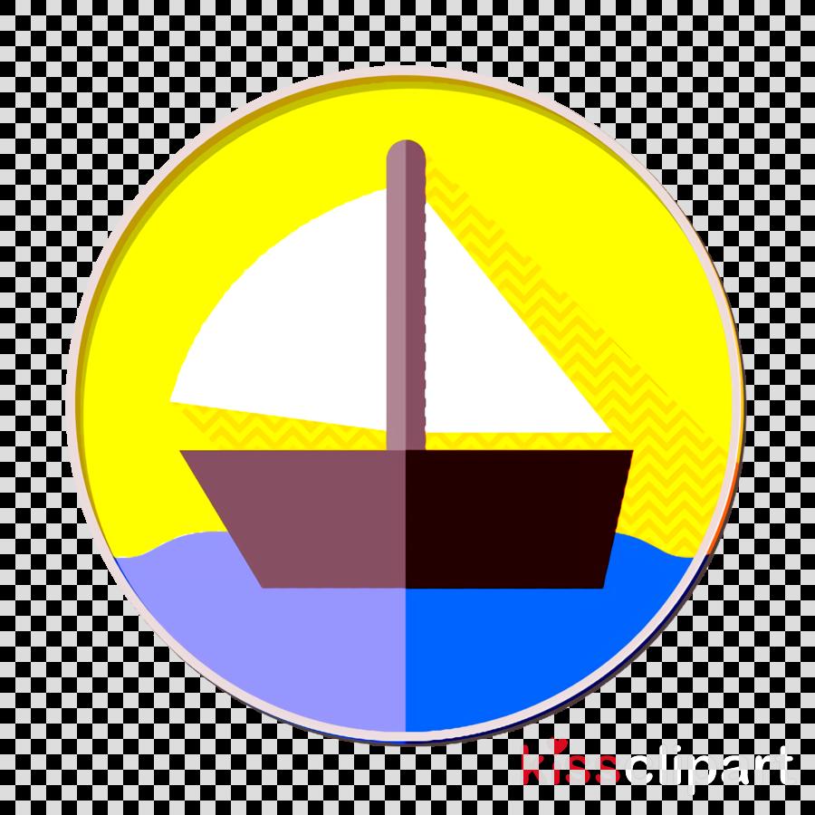 Sail icon Sailboat icon Sailor icon