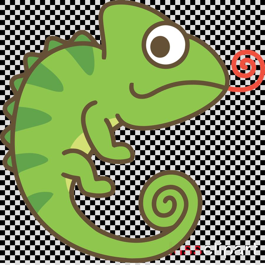 Green Lizard Clip Art