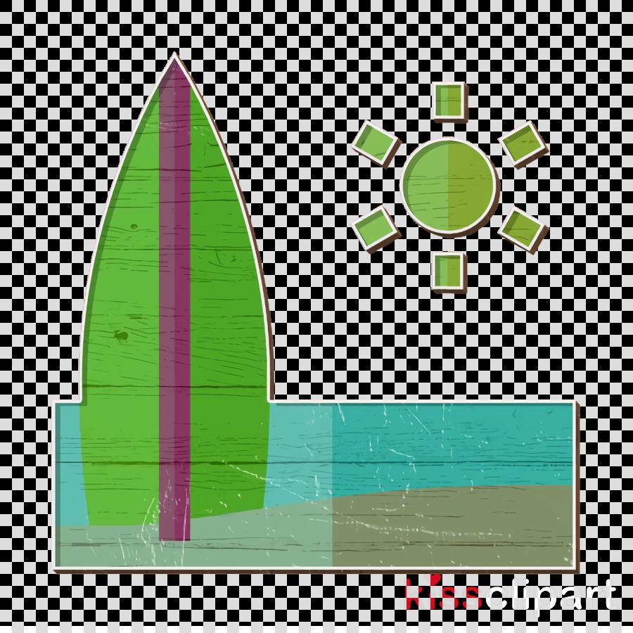Surf board icon Surf icon Summer Holidays icon