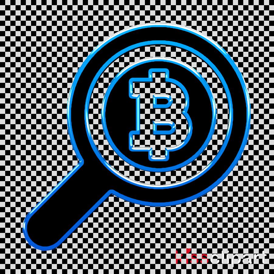 Search icon Bitcoin icon