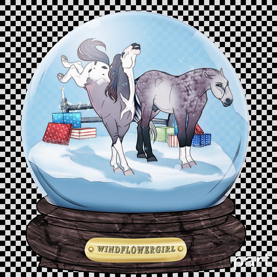 cartoon animal figure horse