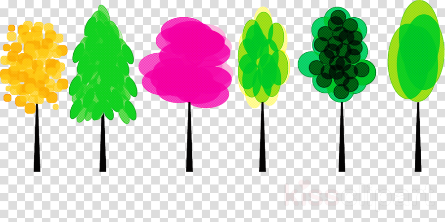 green confectionery lollipop plant candy