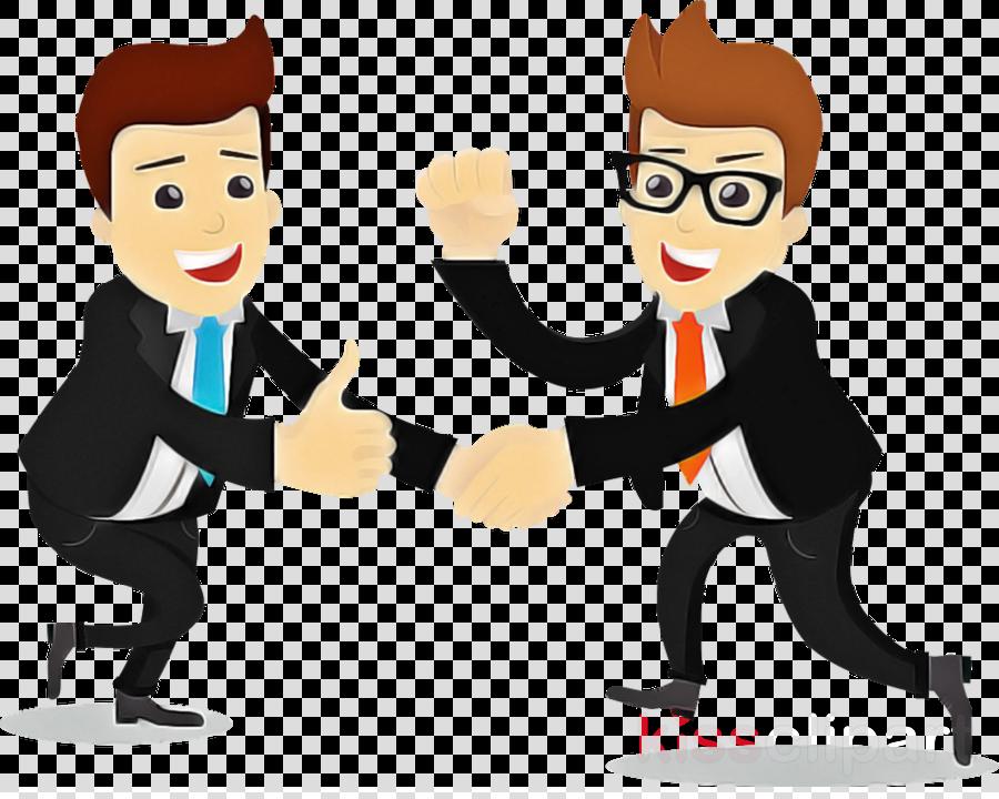 cartoon job gesture conversation finger