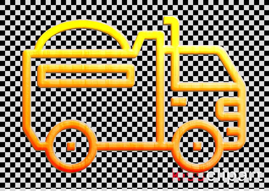 Car icon Truck icon Logistics delivery icon