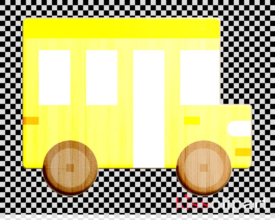 Car icon School bus icon Bus icon