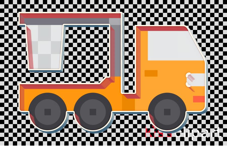 Truck icon Car icon Crane truck icon