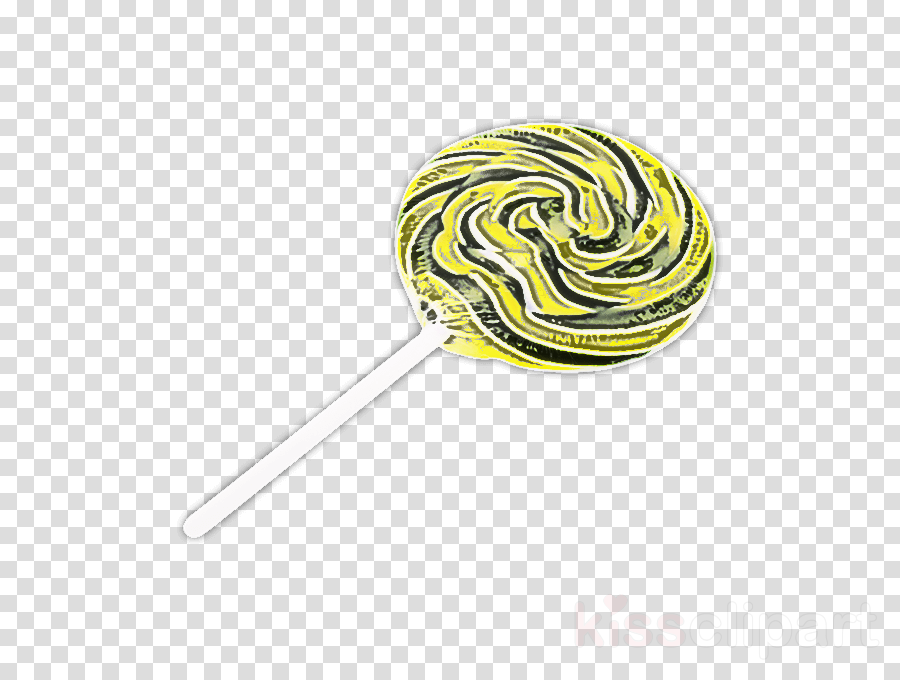 stick candy lollipop yellow confectionery spiral