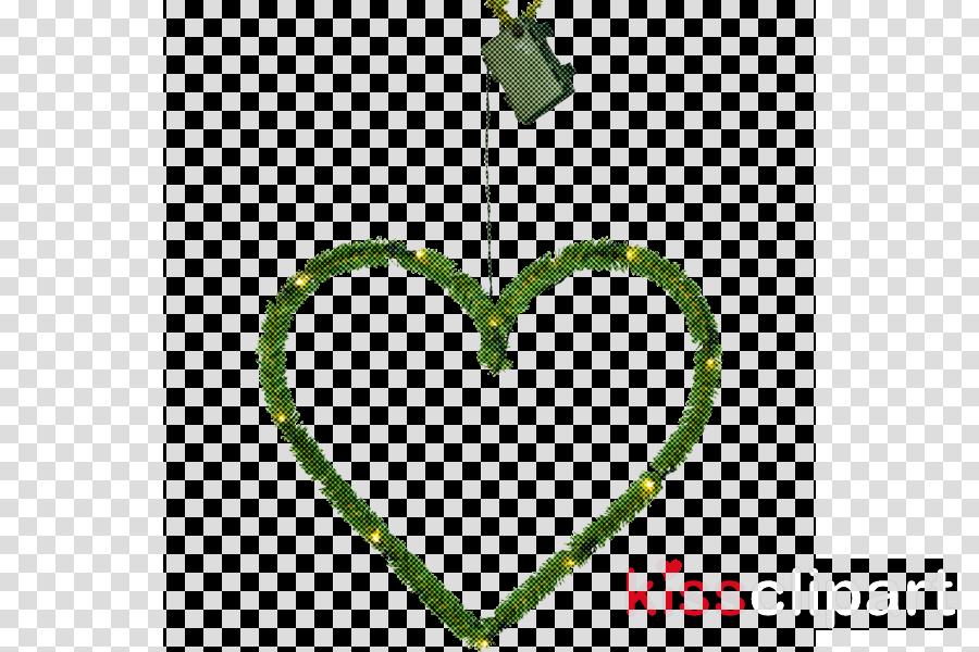green heart leaf plant symbol