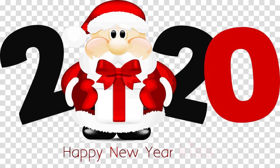 Christmas 2020 Clipart happy new year 2020 new years 2020 2020 clipart   Santa Claus
