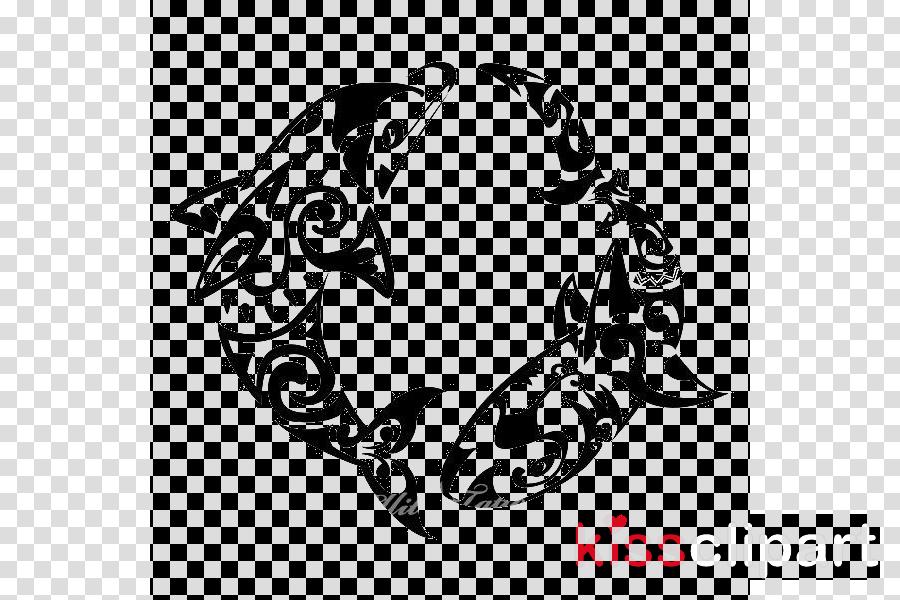 stencil font crest black-and-white symbol