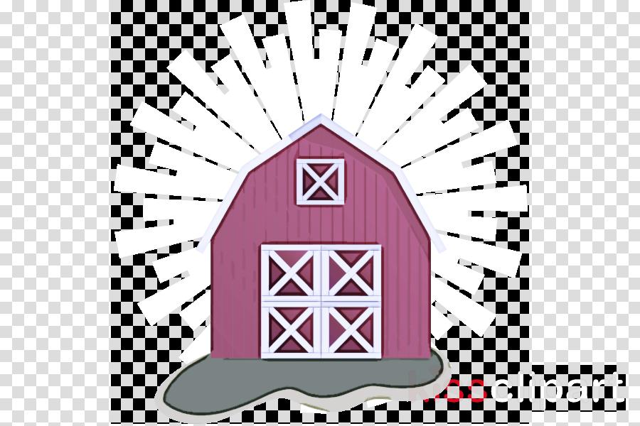 pink barn magenta arch
