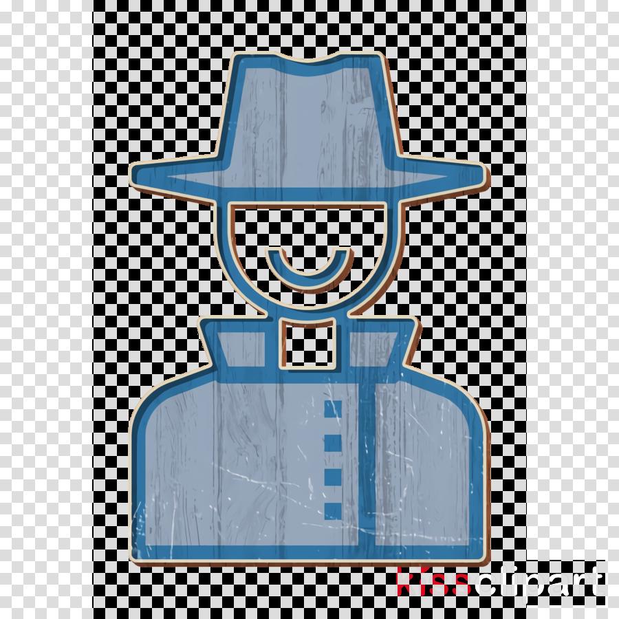 Crime icon Secret agent icon Detective icon