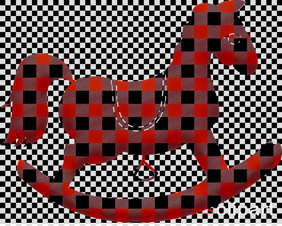 pattern plaid tartan textile horse